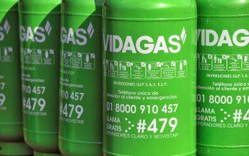 cilindro de gas vidagas